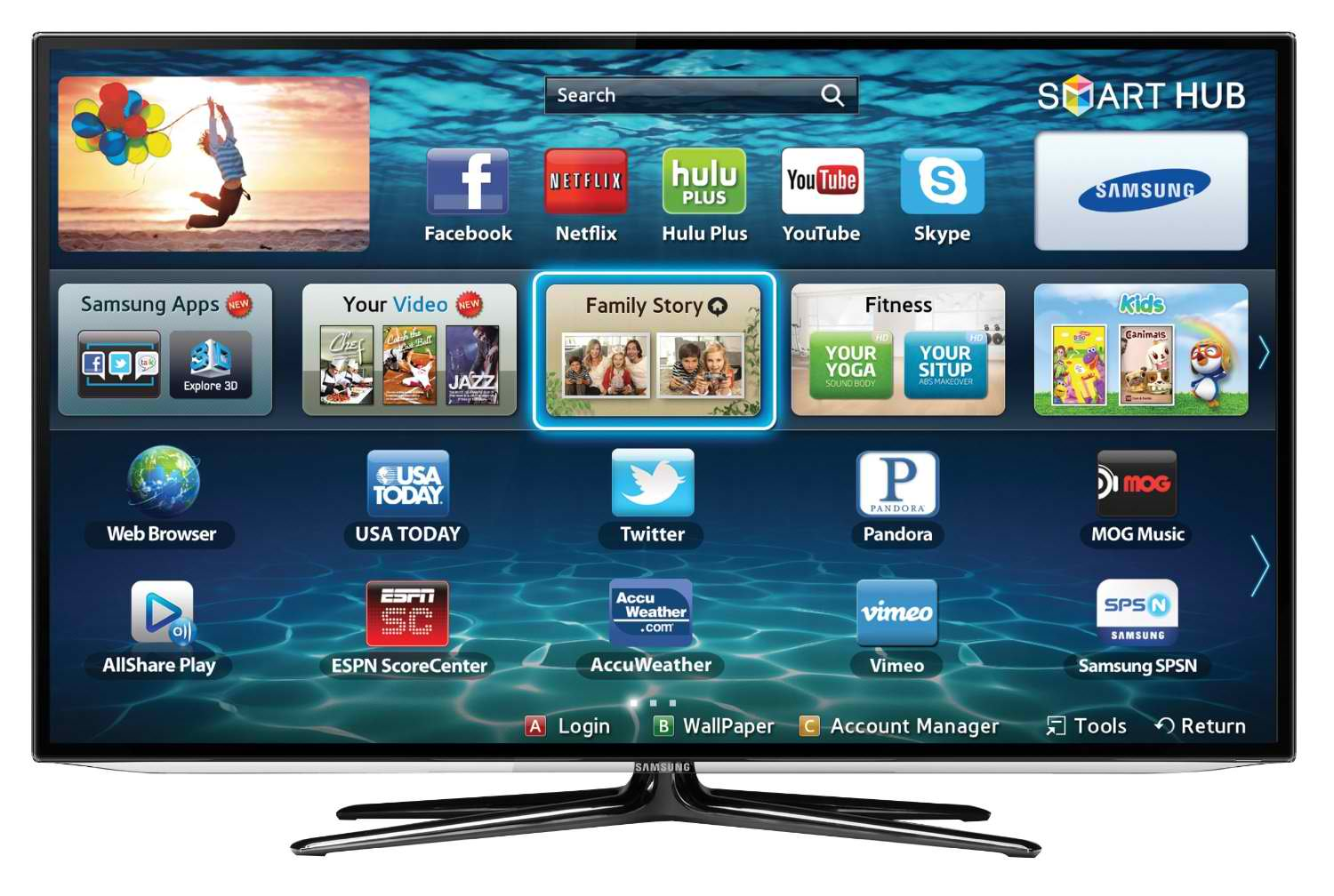 iptv su smart tv panasonic