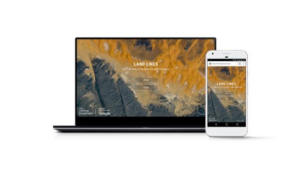 Land Lines Chrome experiment