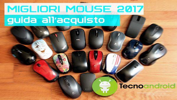 Migliori mouse del 2017 guida acquisto