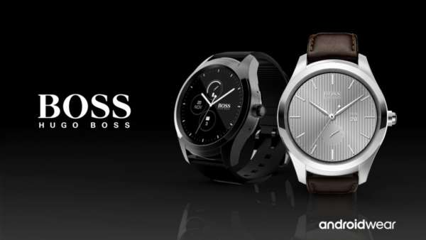touch Hugo boss android wear