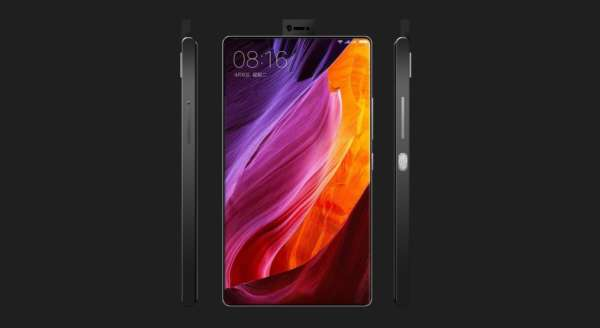 Xiaomi Mi MIX 2 display