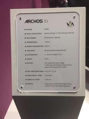 Archos X3