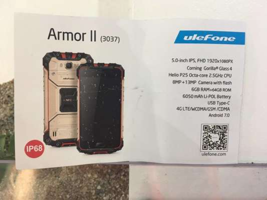 Ulefone Armor II