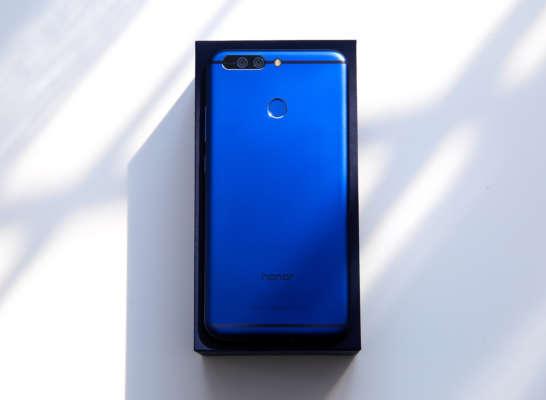honor 8 blu