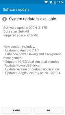 nokia 6 android 7.1.1