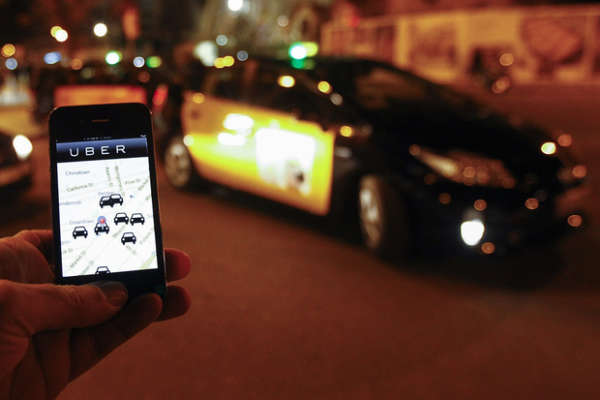 Uber via dall'Italia