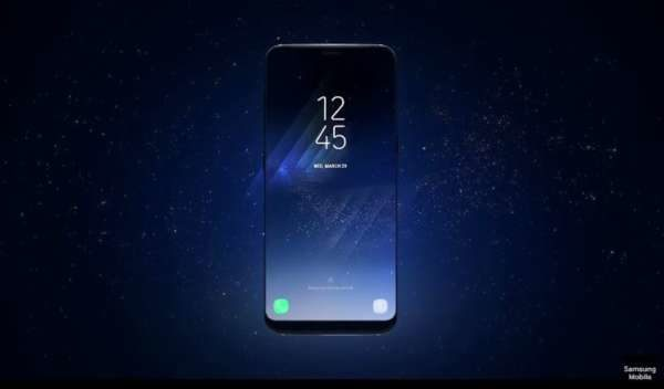 Samsung Galaxy S8 sblocco con iride battuto da un hacker