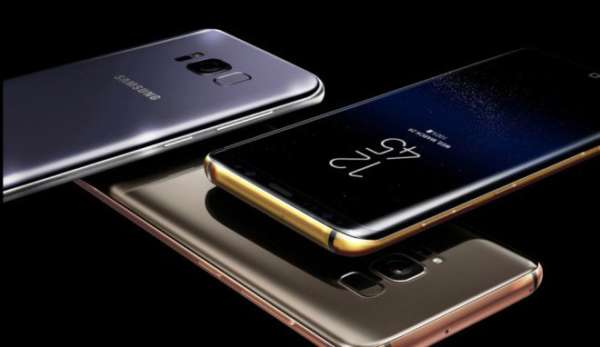 Samsung Galaxy S8 aggiornamento