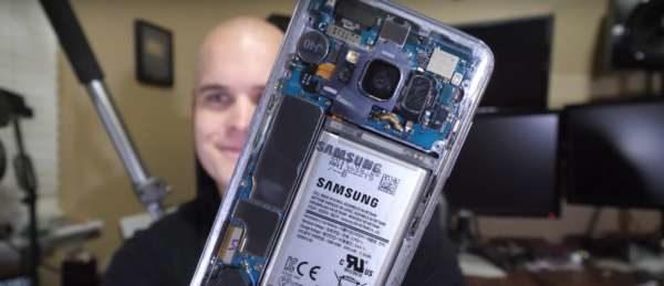 Samsung Galaxy s8 backcover trasparente