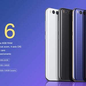 Scheda Tecnica – Xiaomi Mi 6