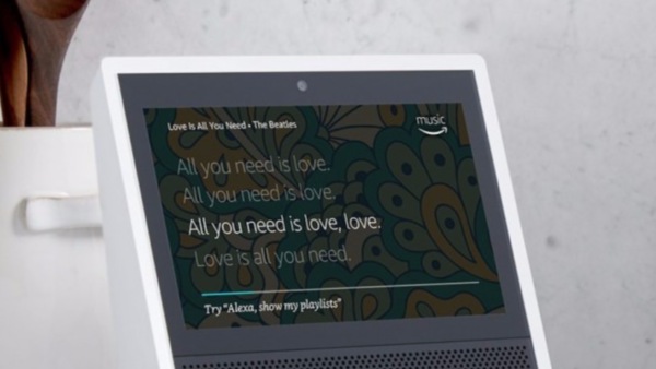 touch echo show amazon