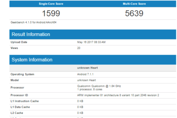 660 snapdragon geekbench