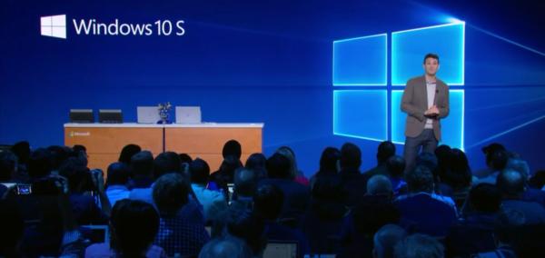 Microsoft Windows 10s Cloudbook