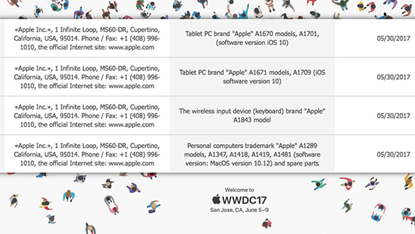 WWDC17, nuovi MacBook, iPad e Magic Keyboard