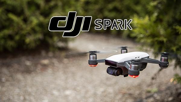 DJI lancia Spark, il minidrone comandabile tramite gestures