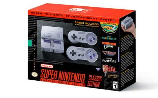 SNES Classic Mini preorder