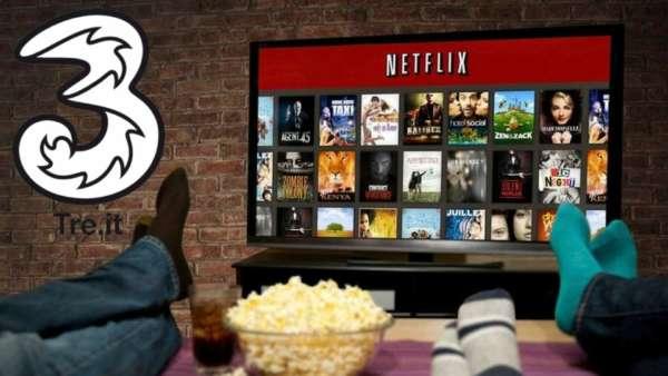 Tre regala Netflix per 3 mesi con Casa3 e Casa3 XL