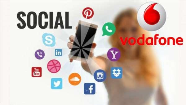 Social network e chat senza consumare GB per i clienti Vodafone Happy