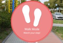 Samsung app camminare in sicurezza