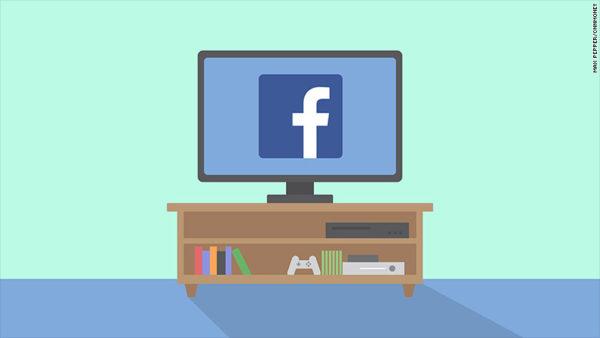 Facebook TV debutto