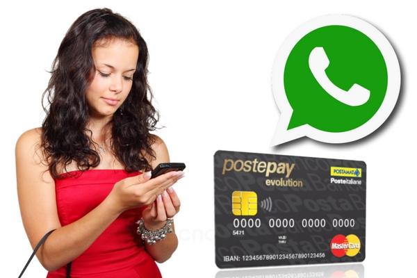 postepay whatsapp