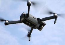 drone aeroporto caos
