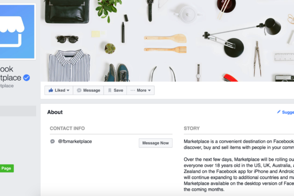 how to get facebook marketplace on android