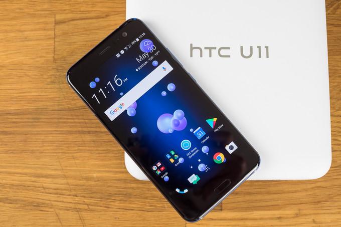HTC U11 si aggiorna ad Android Oreo