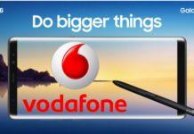 Vodafone, in esclusiva il Samsung Galaxy Note 8 in preordine da domani