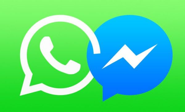 whatsapp e messenger