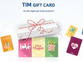 TIM Gift Card