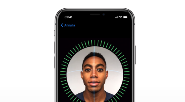 iPhone X, il Face ID