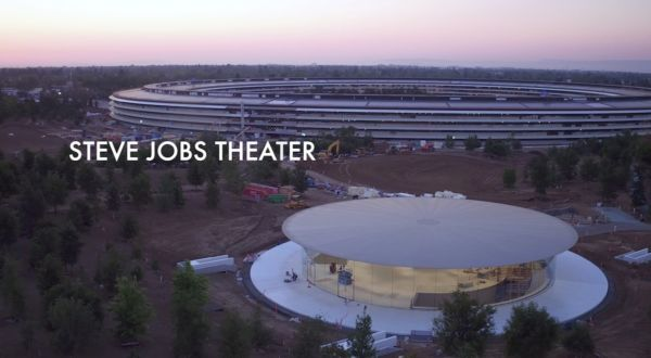 Lo Steve Jobs Theater a pochi giorni dall'evento Apple!