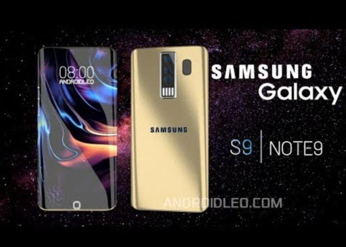 Galaxy S9 Galaxy Note 9.