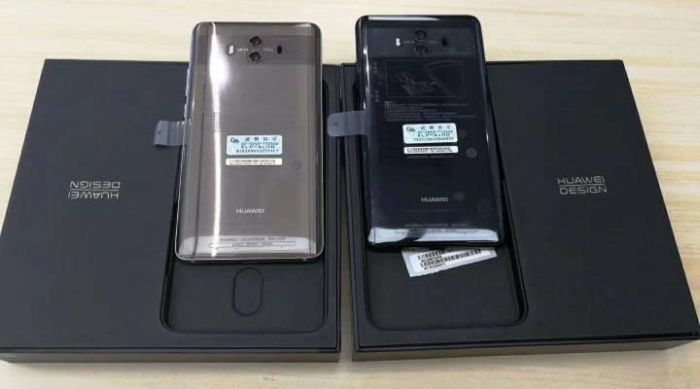 Huawei Mate 10, le colorazioni by SlahLeaks