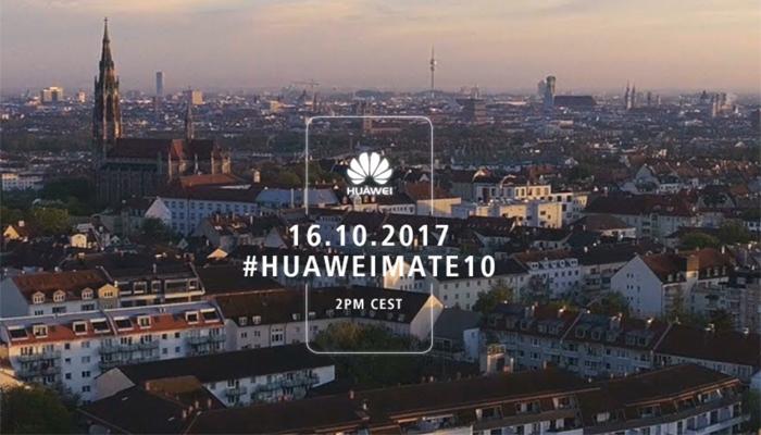 Huawei Mate 10, l'evento di presentazione