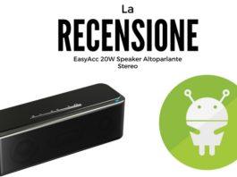 EasyAcc 20W Speaker Altoparlante Stereo