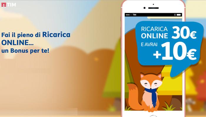 TIM, Ricarica Online