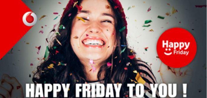 Vodafone: con Happy Friday ecco il fantastico regalo di questo Venerdì