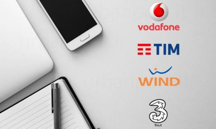 AGCOM Vodafone, Wind, TIM e TRE