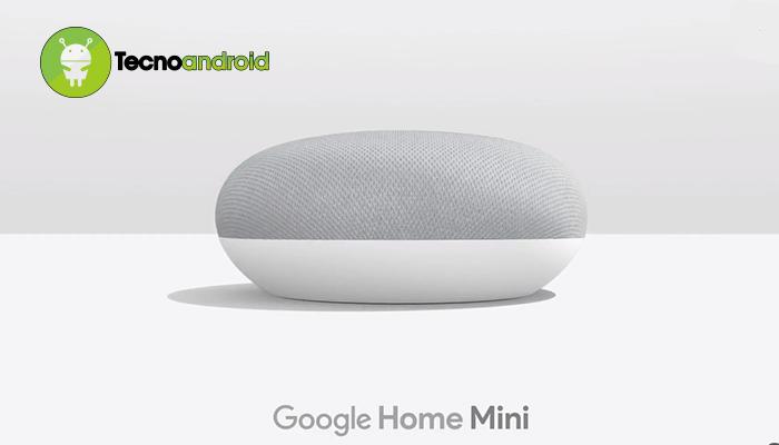 Google Home Mini ufficiale: più piccolo ma anche più semplice
