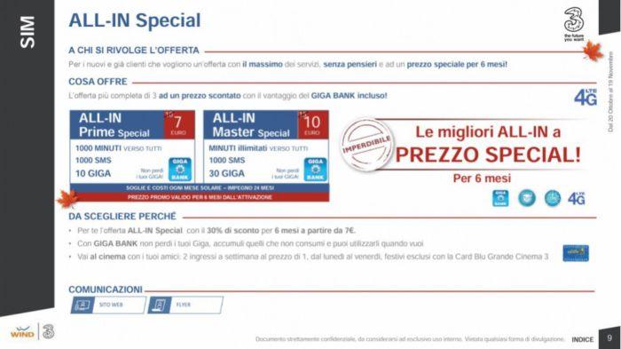 Offerta Tre Italia: arriva la promozione che offre GB infiniti!
