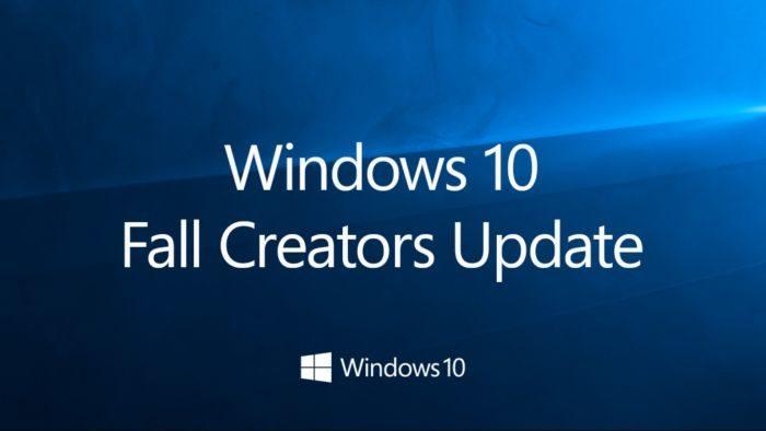 Windows 10 Fall Creators Update, download ed installazione dell'aggiornamento