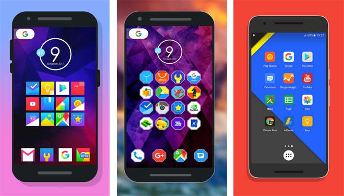 Android, icon pack gratis