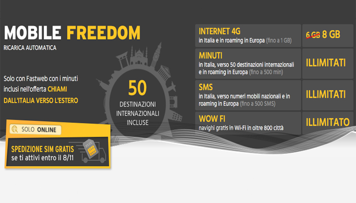 Fastweb Mobile Freedom