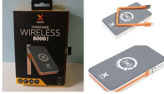 arriva XTORM Power Bank Wireless da 8.000 mah