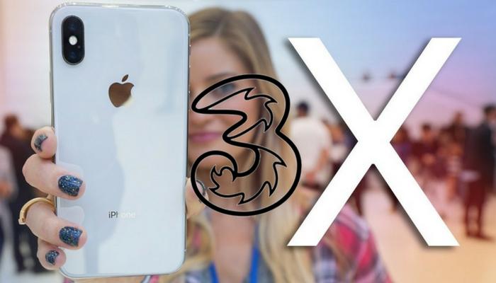 tre iphone x