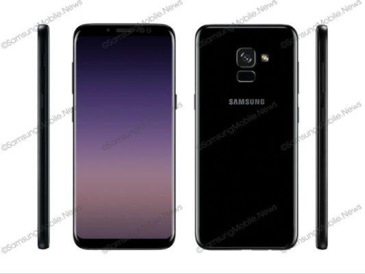Galaxy A5 (2018): i primi render!