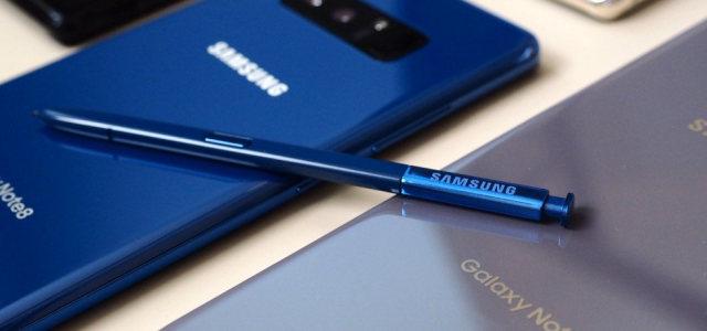 Samsung Galaxy Note 8, eccolo in colorazione Deepsea Blue