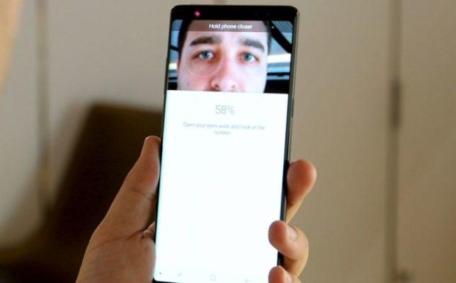 Samsung Galaxy S9: tecnologia di riconoscimento 3D?